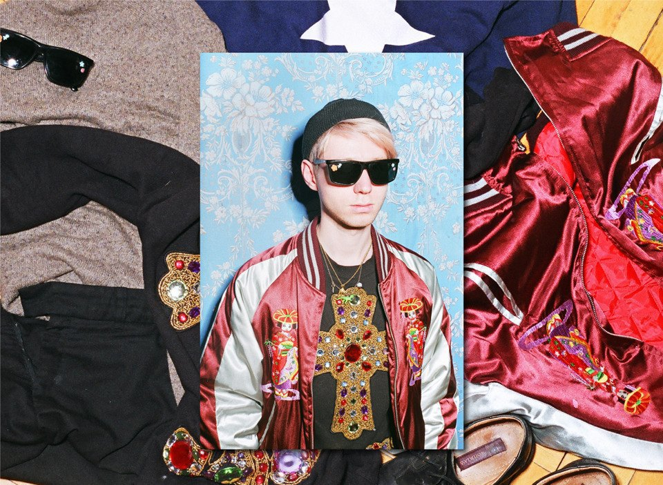 Все лучшее сразу: Московские модники в самой нарядной одежде из своего гардероба. Изображение № 10.