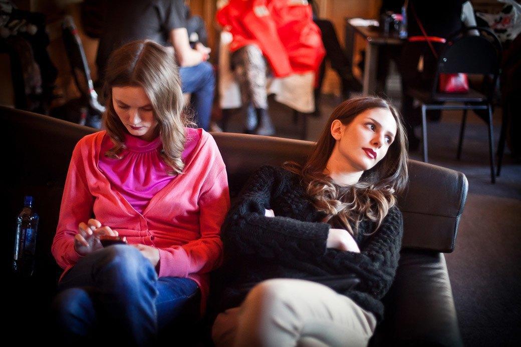 Репортаж: Бархатные платья  и светящиеся кубы на LUBLU Kira Plastinina FW 2013. Изображение № 9.