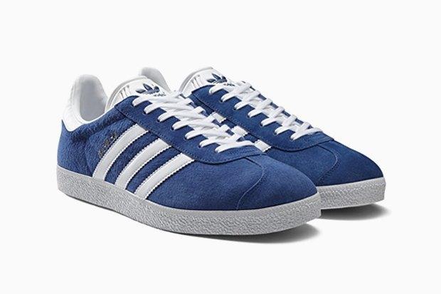 Обновлённые кроссовки adidas Gazelle  родом из 90-х. Изображение № 3.