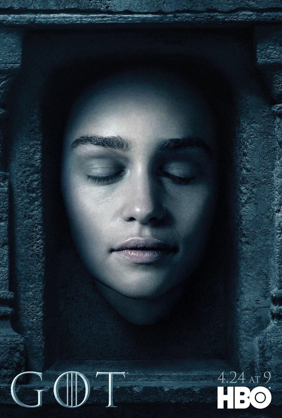 Постеры с героями «Игры престолов» к новому сезону. Изображение № 9.