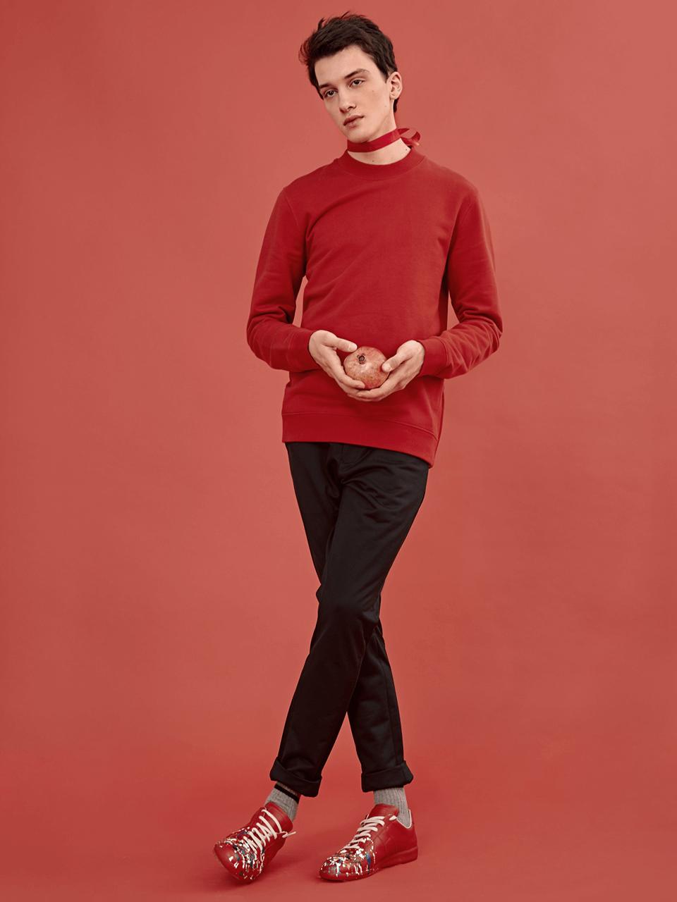В красном цвете:  Яркие образы для  Нового года и не только. Изображение № 6.