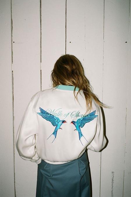 Пижамы, комбинации и халаты в новой коллекции Walk of Shame. Изображение № 34.