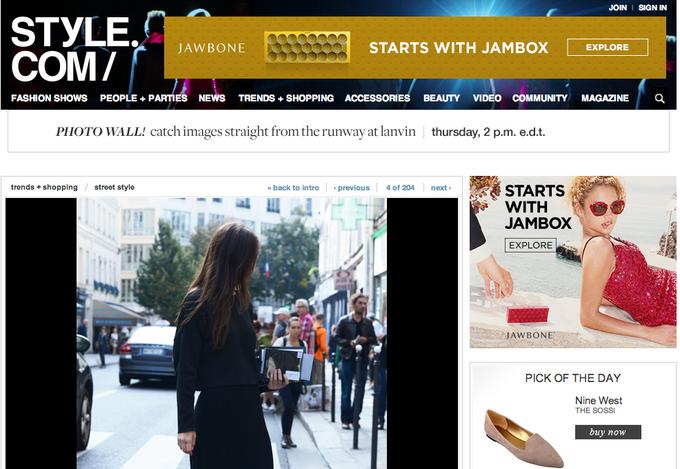 Прямой репортаж  с Paris Fashion Week:  День 3. Изображение № 27.