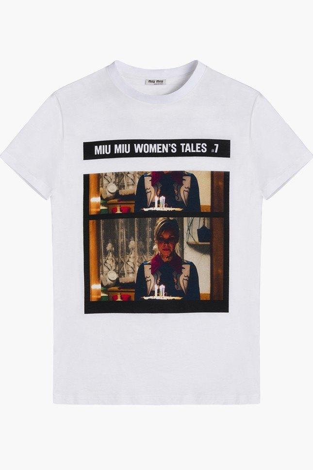 Miu Miu посвятили коллекцию футболок современным женщинам. Изображение № 7.