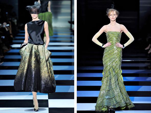 Armani Privé Spring 2012 Haute Couture . Изображение № 4.