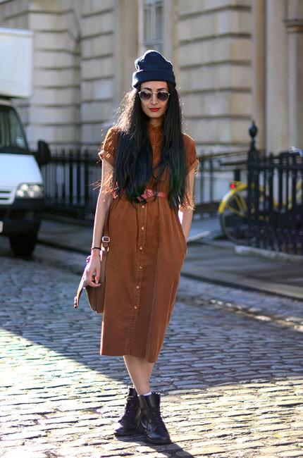 London Fashion Week: Уличный стиль, часть 1. Изображение № 29.