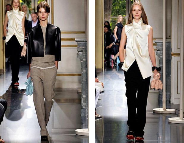 Парижская неделя моды: Показы Kenzo, Celine, Hermes, Givenchy, John Galliano. Изображение № 13.
