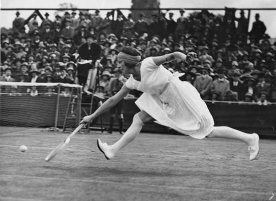 Теннисистка Сюзанна Ленглен. Изображение № 1.