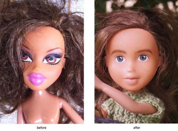 С кукол Bratz смыли агрессивный макияж. Изображение № 2.