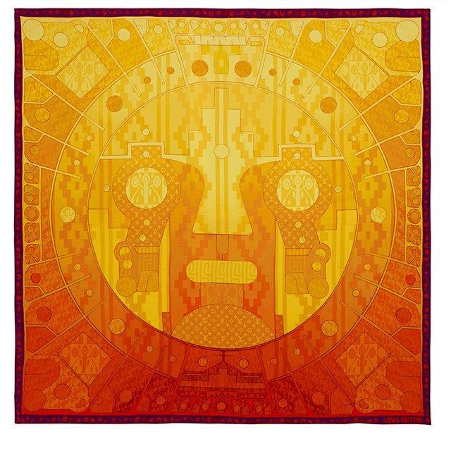 Стрит-арт-художники создали принты для платков Louis Vuitton. Изображение № 3.