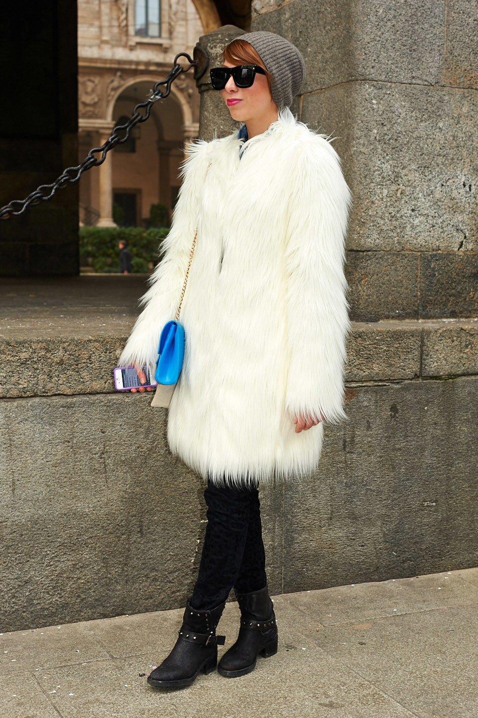 Стритстайл:  Неделя моды в Милане,  часть I. Изображение № 32.