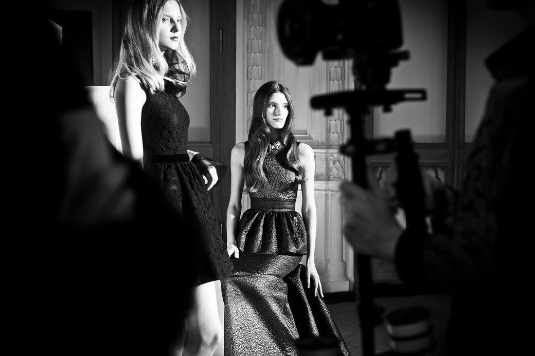 Репортаж: Бархатные платья  и светящиеся кубы на LUBLU Kira Plastinina FW 2013. Изображение № 41.