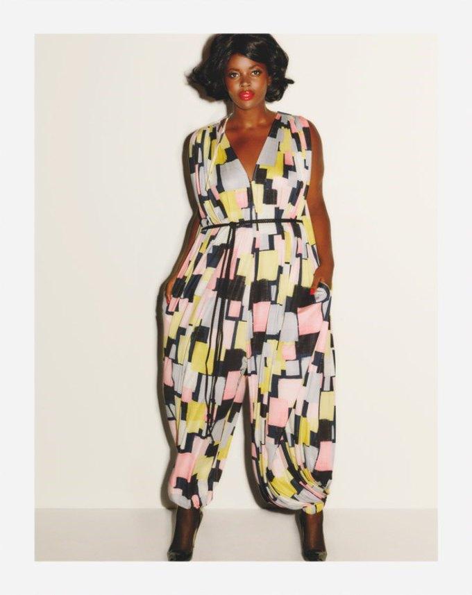 Бет Дитто представила коллекцию  плюс-сайз-одежды. Изображение № 2.