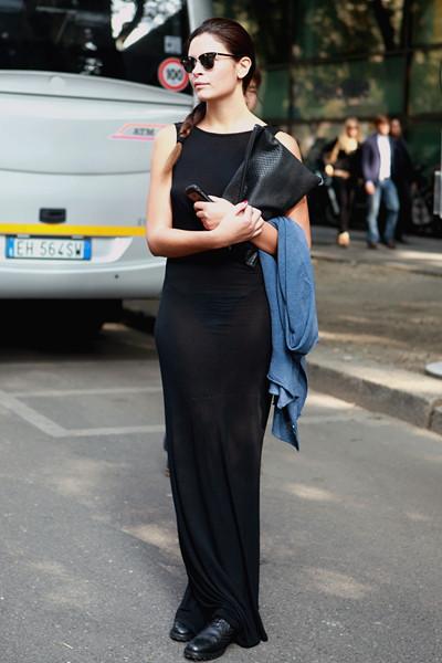 Milan Fashion Week: Уличный стиль, день 4. Изображение № 14.