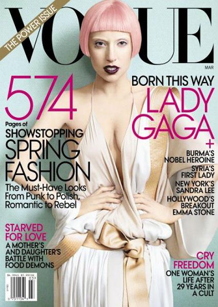 Обложка американского Vogue, март 2011. Изображение № 71.