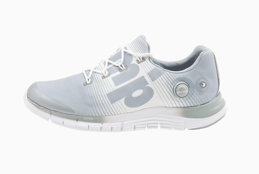 Кроссовки ZPump Fusion можно накачать воздухом, нажав на кнопку сбоку. Обувь примет форму вашей стопы. Изображение № 6.