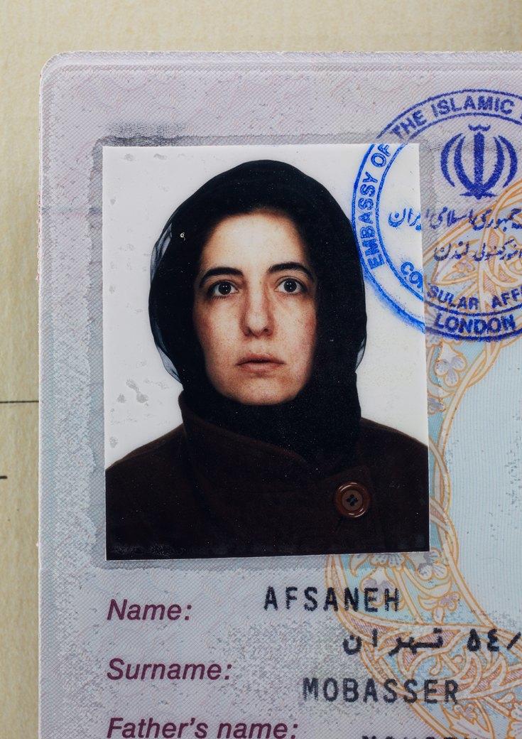 39 лет, иранский паспорт, Лондон, 1996. Изображение № 6.