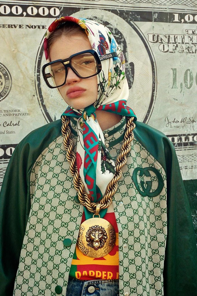 Gucci показали коллаб с дизайнером Дэппер Дэном. Изображение № 33.