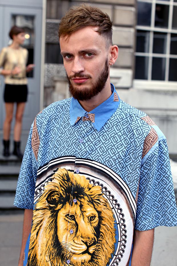 Streetstyle: Неделя моды в Лондоне, часть 1. Изображение № 14.