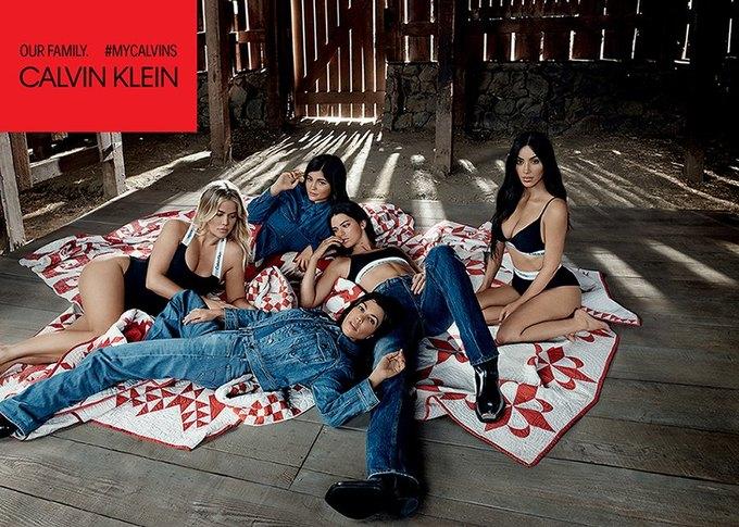 Сёстры Кардашьян-Дженнер снялись для кампании Calvin Klein. Изображение № 4.