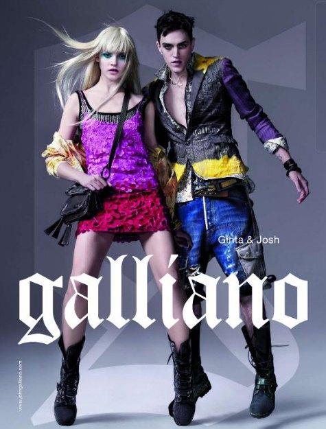 Рекламная кампания John Galliano. Изображение № 3.