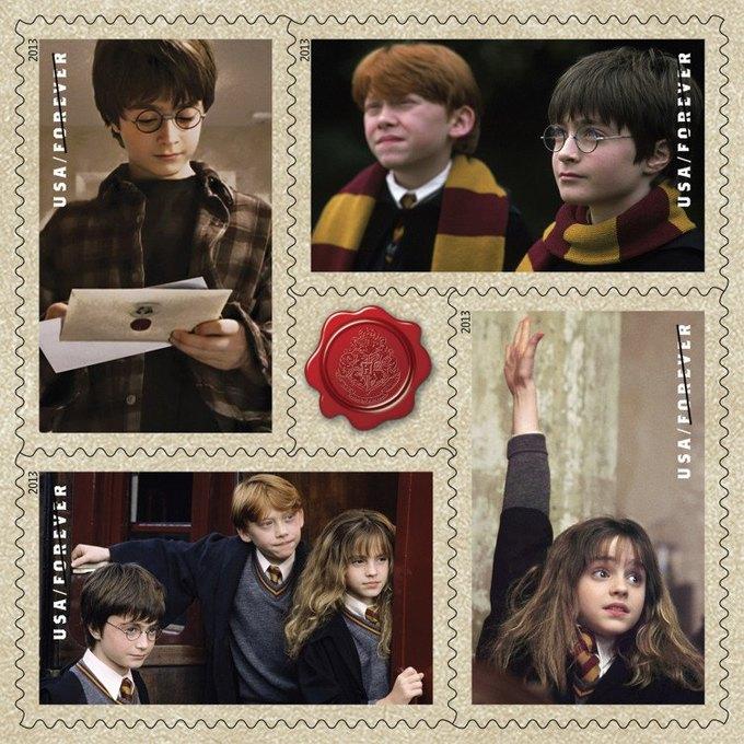Марки с Гарри Поттером возмутили американских филателистов. Изображение № 3.