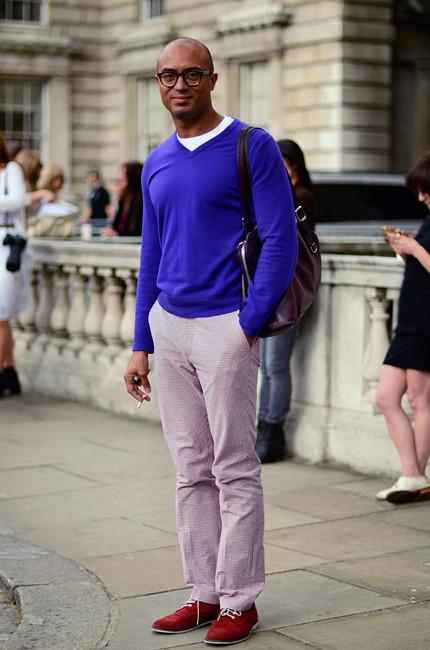 London Fashion Week: Уличный стиль, часть 1. Изображение № 7.