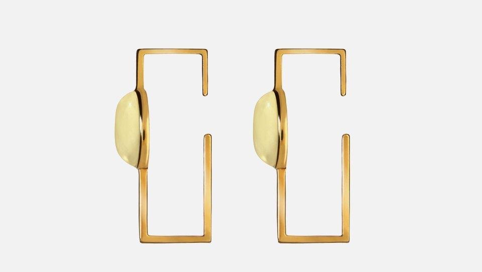 Лаконичные серьги с янтарём российской марки Ambery. Изображение № 1.