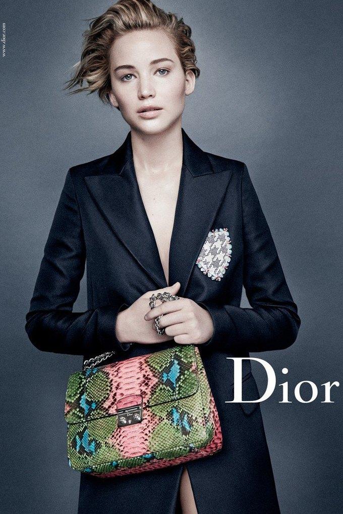 Дженнифер Лоуренс снова в кампании Dior. Изображение № 1.
