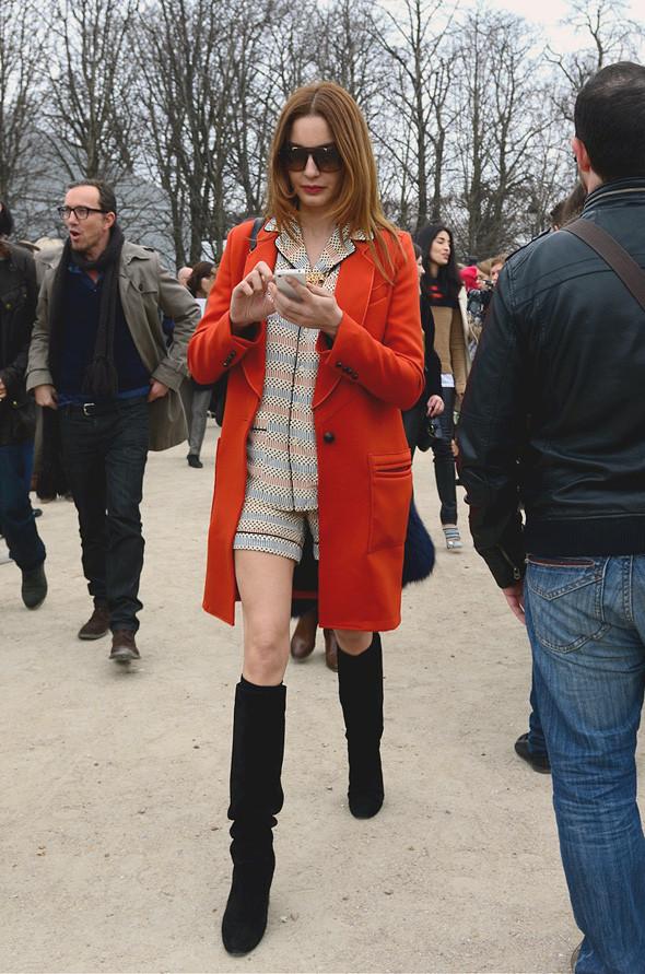 Неделя моды в Париже: Streetstyle. Изображение № 22.