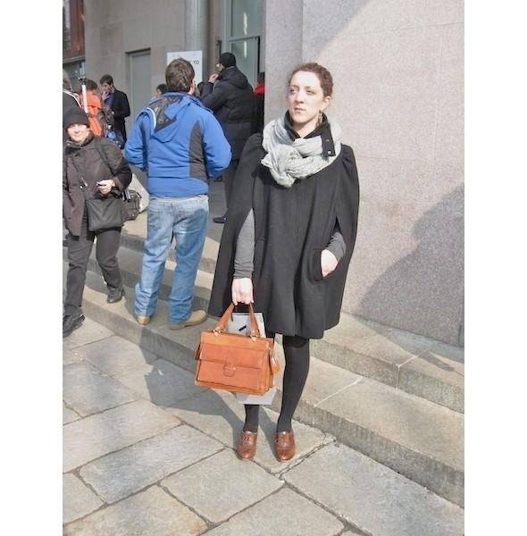Milan Fashion Week: день первый — луки. Изображение № 9.