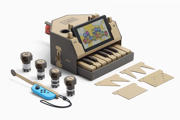 Картонный конструктор Nintendo Labo. Изображение № 4.