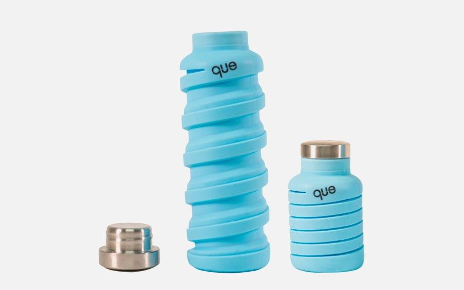 Складная бутылка для воды que Bottle. Изображение № 1.