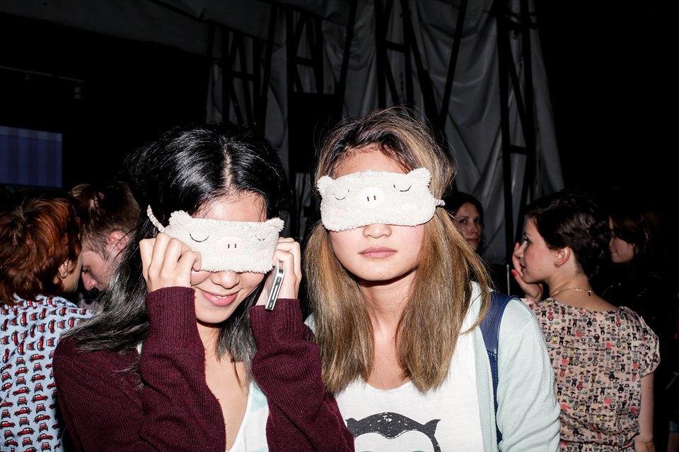 Гости  пижамной вечеринки  Wonder Girls Homeparty. Изображение № 4.