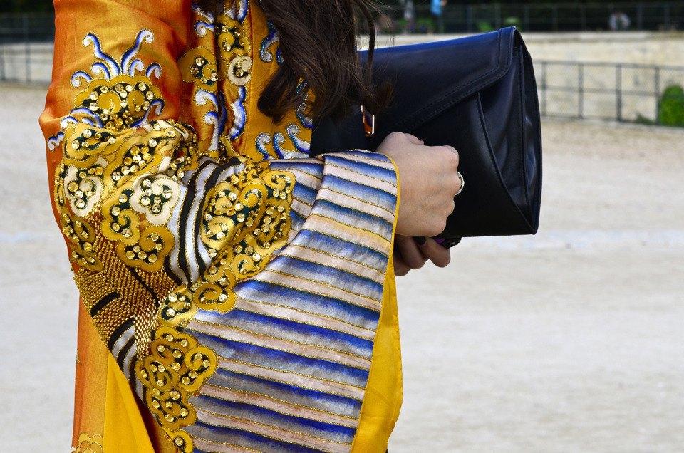 Парень в камуфляже, девушка-Микки-Маус и другие гости Paris Fashion Week. Изображение № 29.