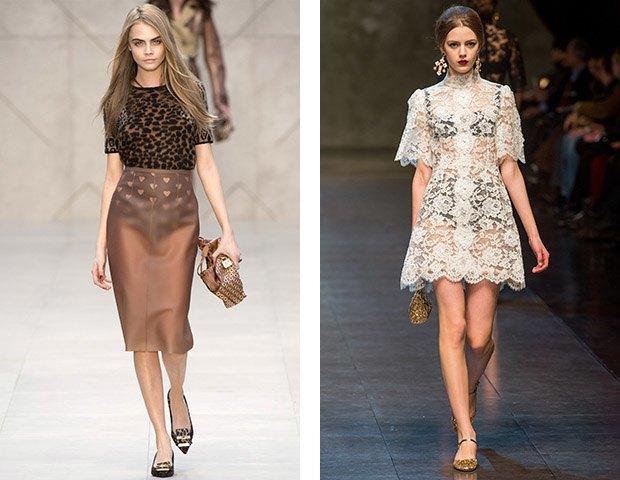 Burberry FW 2013 / Dolce & Gabbana FW 2013. Изображение № 8.