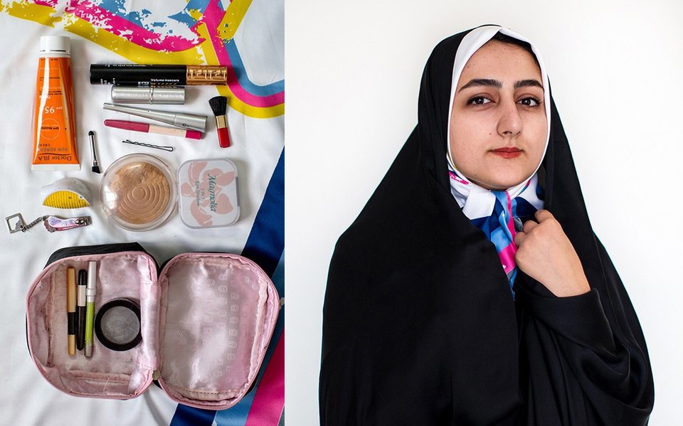 «Иранский макияж»:  Как и чем красятся  восточные женщины. Изображение № 8.
