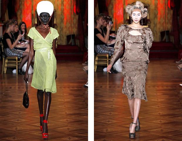 Парижская неделя моды: показы Haider Ackermann, Viktor&Rolf, Vivienne Westwood, Junya Watanabe и CDG. Изображение № 41.