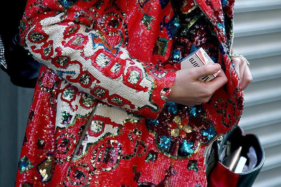 Стритстайл: Что носят на Нью-Йоркской неделе моды. Изображение № 31.