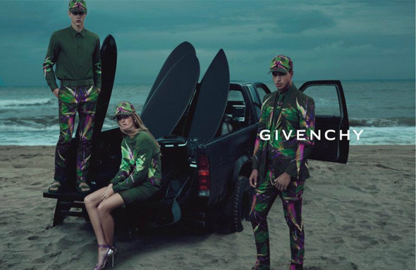 Givenchy SS 2012 . Изображение № 184.