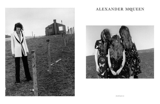 Alexander McQueen выпустили готичную рекламную кампанию. Изображение № 3.
