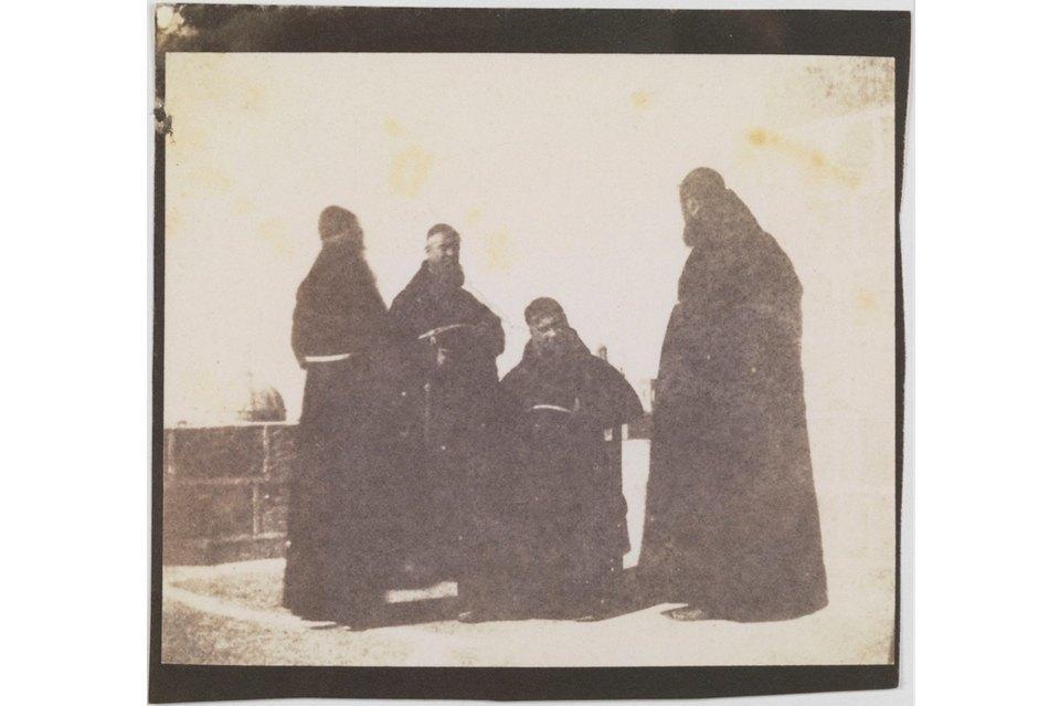 Кальверт Ричард Джонс, монахи-капуцины на Мальте, 1846. Изображение № 5.