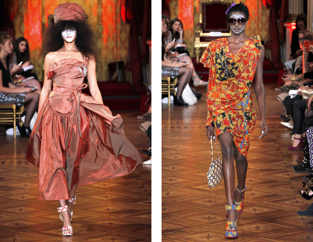 Парижская неделя моды: показы Haider Ackermann, Viktor&Rolf, Vivienne Westwood, Junya Watanabe и CDG. Изображение № 42.