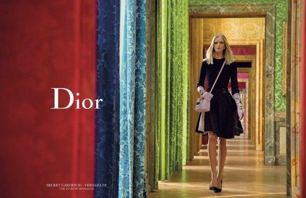 Вышло фэшн-видео Инез  и Винуда для Dior из серии «Secret Garden». Изображение № 1.