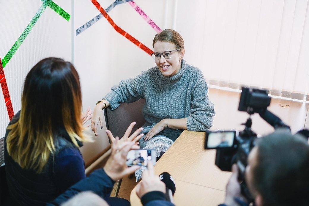 «Я всегда у людей козёл отпущения»: Интервью Ксении Собчак . Изображение № 8.