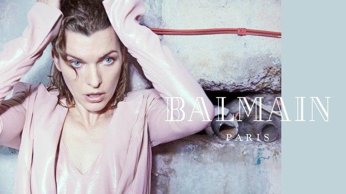 Милла Йовович стала новым лицом Balmain. Изображение № 8.