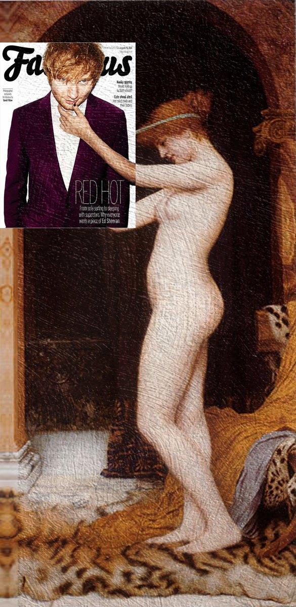 Mag + Art: Коллажи из глянца и живописи. Изображение № 16.