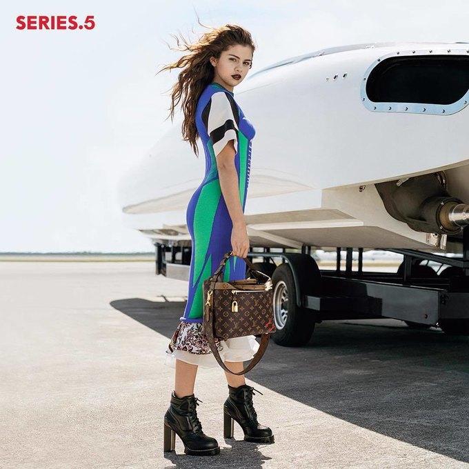 Селена Гомес стала лицом новой коллекции Louis Vuitton. Изображение № 2.
