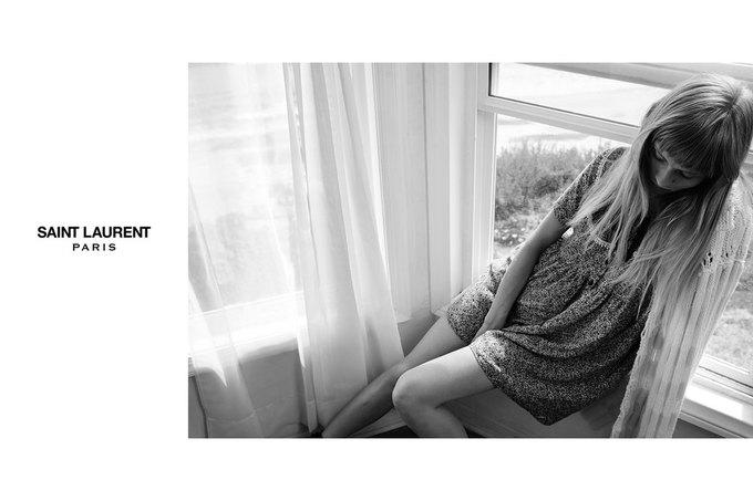 Звезда «Любви» Гаспара Ноэ и сын Килмера снялись в рекламе Saint Laurent. Изображение № 15.