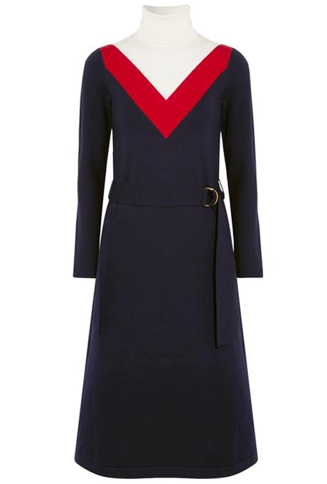 Тёплые платья на осень: 11 вариантов от простых до самых роскошных. Изображение № 6.